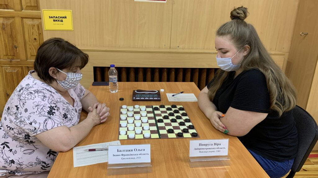 NURE student won bronze at the Ukrainian Women's Checkers -100 Cup