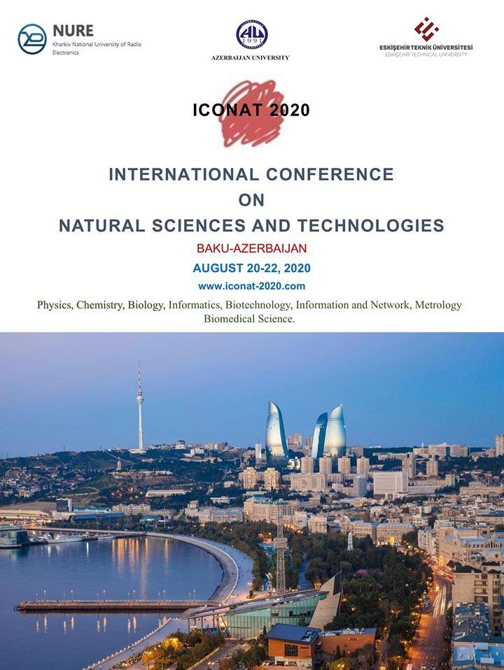 Внимание! Срок проведения конференции ICONAT 2020 перенесен