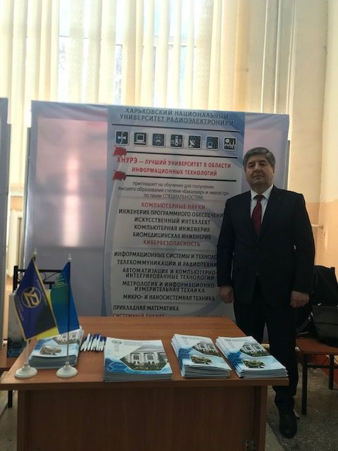 Vice-Rector of NURE is in Dushanbe on a working visit