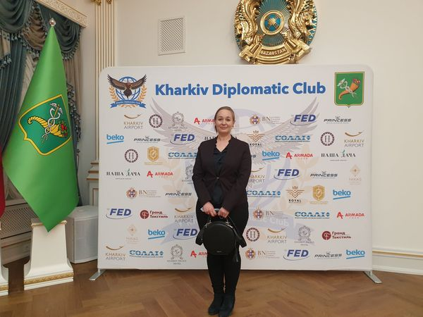 NURE  representative joint the Administrative Council Alliance France in Kharkiv