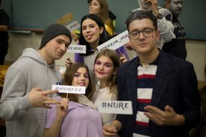 NURE students attended a movie evening in KNURE