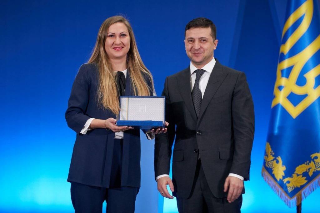 The NURE scientist is a laureate of the President of Ukraine Award