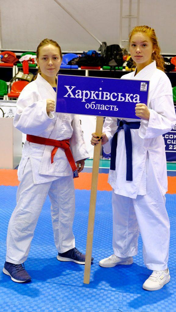 NURE girl-athletes win Ukrainian goju-ryu karate championship