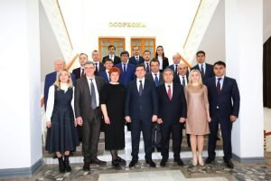 Murad Omarov paid a working visit to Dushanbe