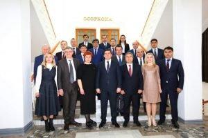 Мурад Омаров відвідав Душанбе з робочим візитом