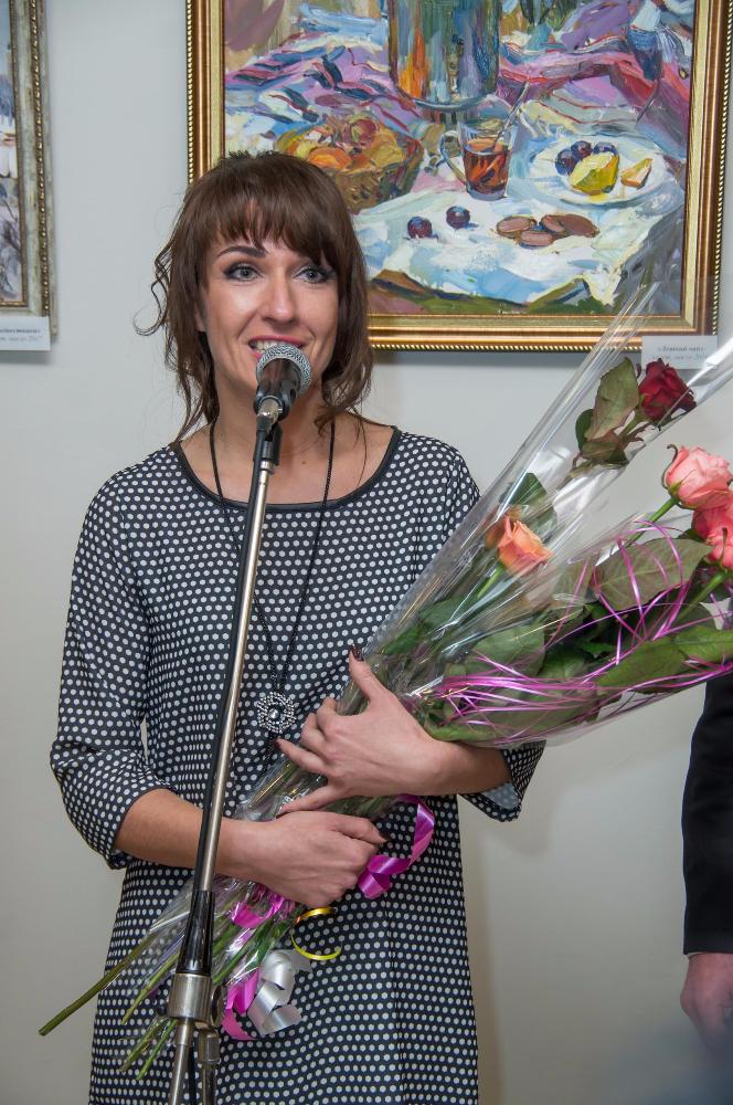 В Харькове открылась персональная выставка художника Музея истории ХНУРЭ Алины Храпчинской