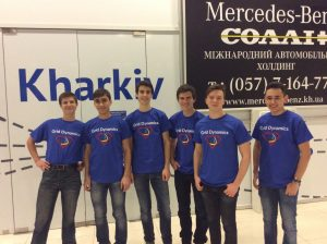 Команда ХНУРЭ заняла второе место на соревнованиях по программированию в Тбилиси