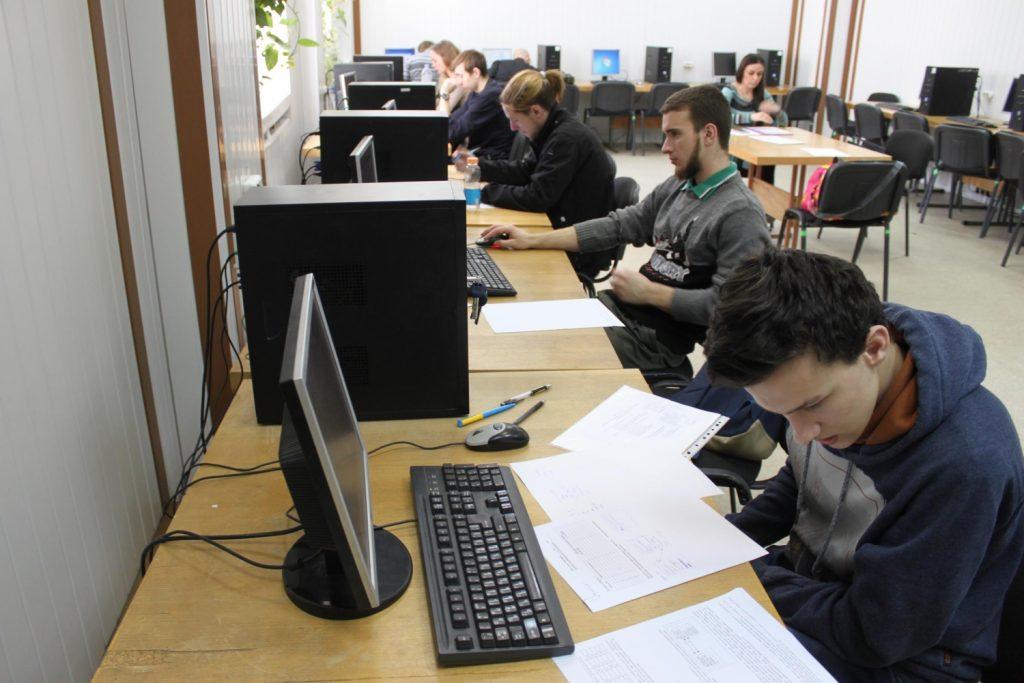 В ХНУРЭ начался второй этап Всеукраинской студенческой олимпиады