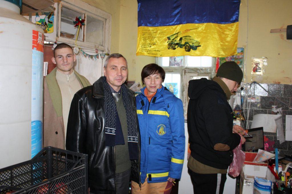 Профком заботится о защитниках Украины