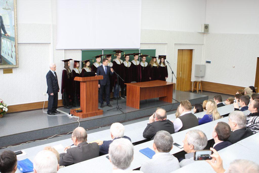 В ХНУРЭ открыли аудиторию в честь выдающегося ученого, бывшего ректора Валентина Свиридова