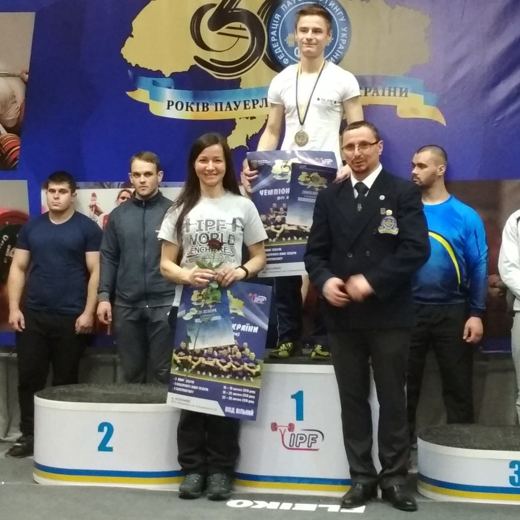 Студент ХНУРЕ виборов можливість представляти збірну команду України з жиму лежачи