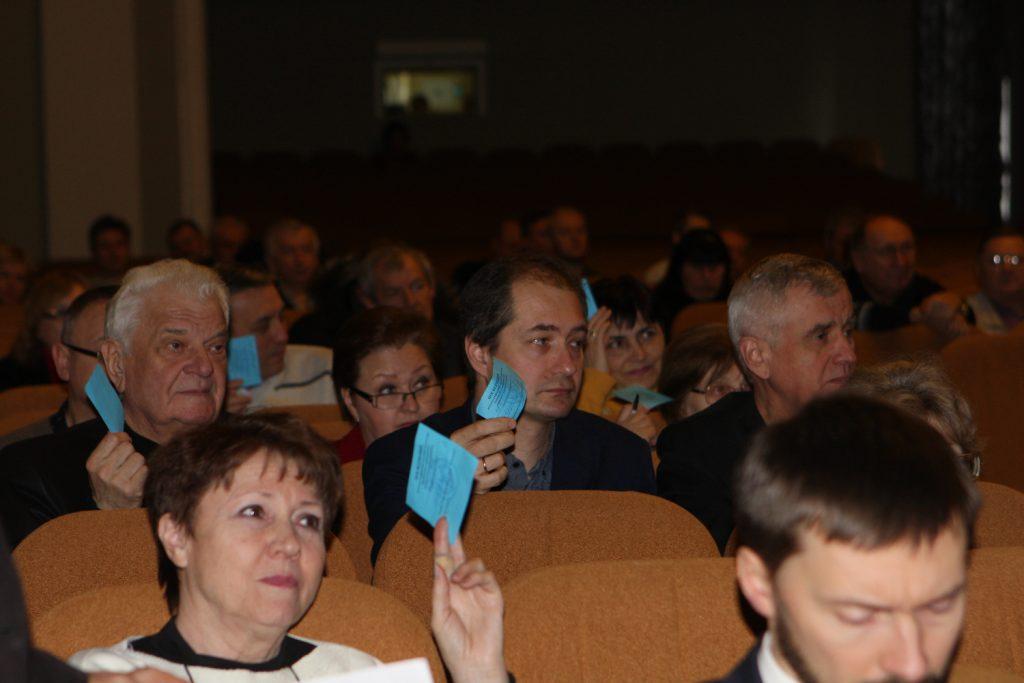В ХНУРЭ прошло заседание трудового коллектива