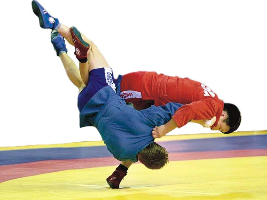 Сборная команда ХНУРЭ по самбо завоевала 8 медалей на областных соревнованиях среди студентов