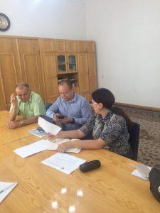 Ректор ХНУРЕ провів робочу зустріч із керівництвом Департаменту науки та освіти
