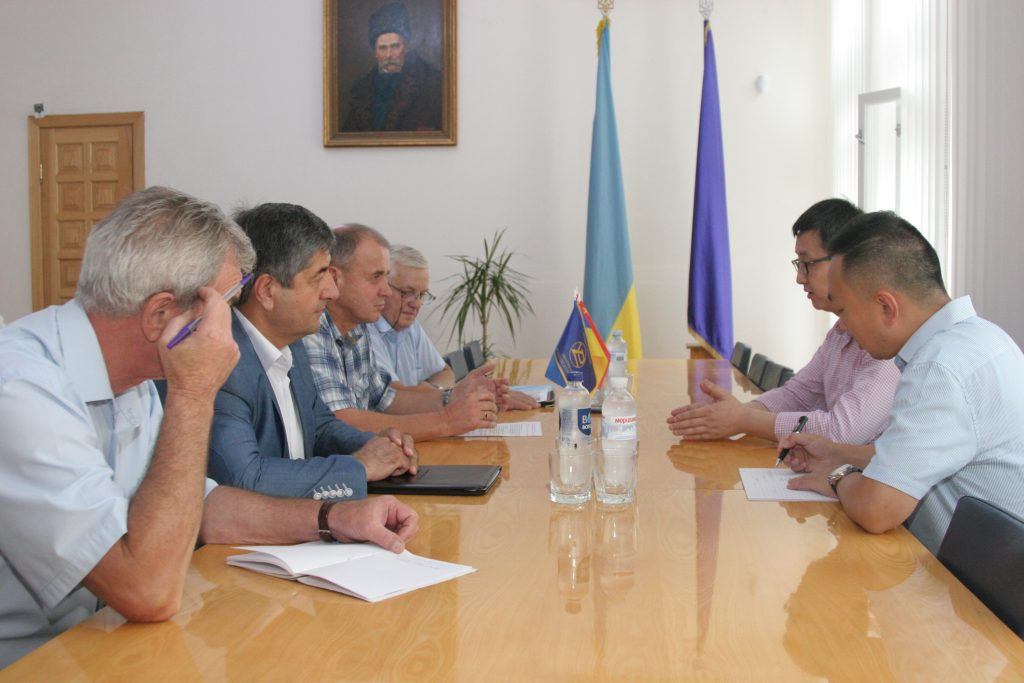 P.R.Chinaare interested in close cooperation with NURE