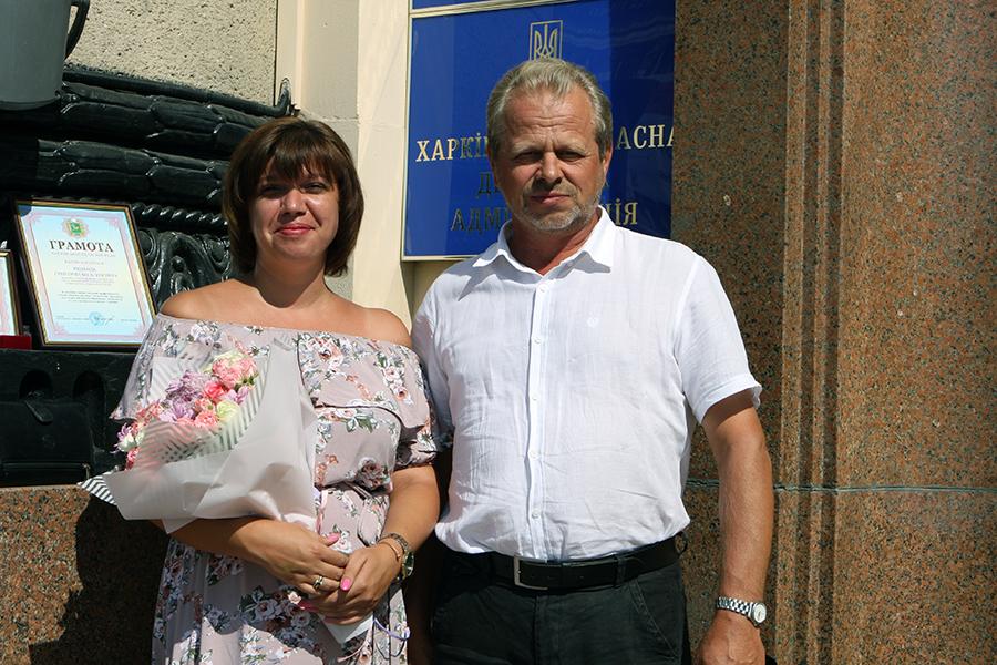 В областном совете наградили сотрудников ХНУРЭ