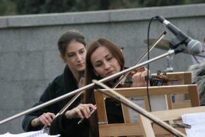 Студенты ХНУРЭ посетили Художественную акцию под открытым небом