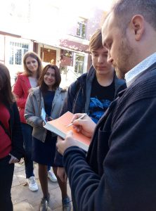 У ХНУРЕ відбулась зустріч з авторами та акторами фільму «Позивний «Бандерас»