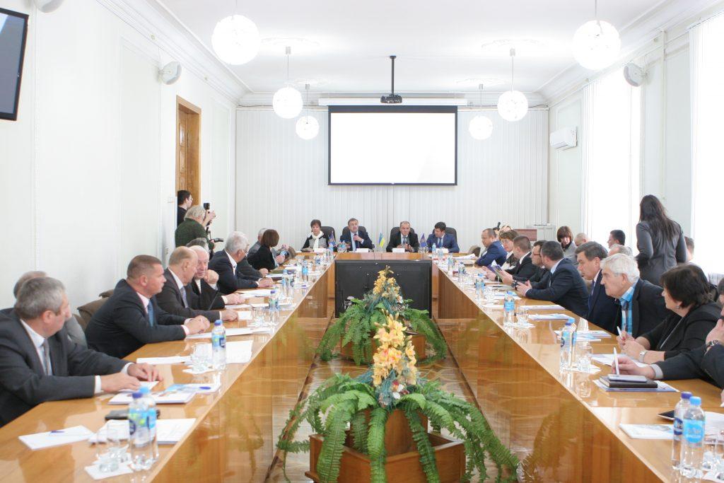 В ХНУРЭ прошло заседание Совета ректоров и Правления университетского консорциума