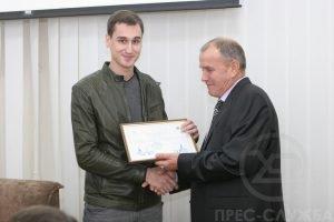 У ХНУРЕ привітали студентів – переможців міжнародного конкурсу мистецтв