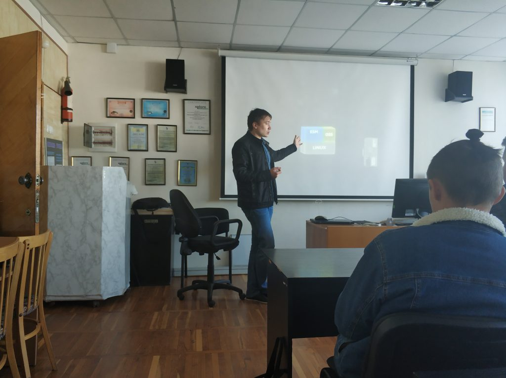 """Company """"Phoenix Contact""""Ltdhas met with students of the 2-3rd year of the department of DOED"""