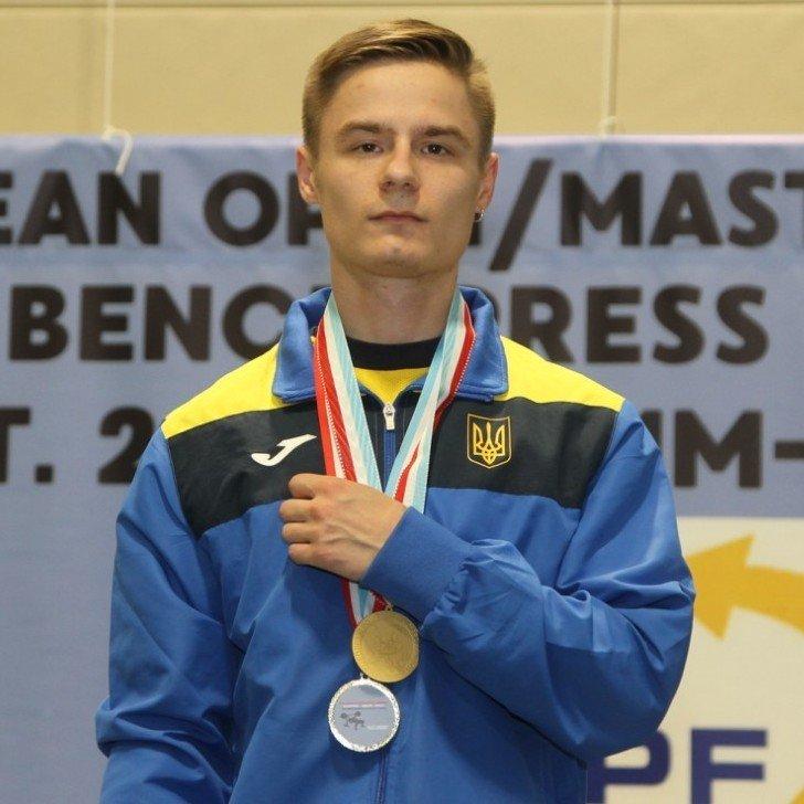 Студент ХНУРЭ победил на Чемпионате Европы по жиму лежа