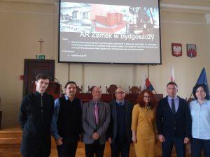 Представители ХНУРЕ встретились с заместителем председателя городского совета города Быдгощ