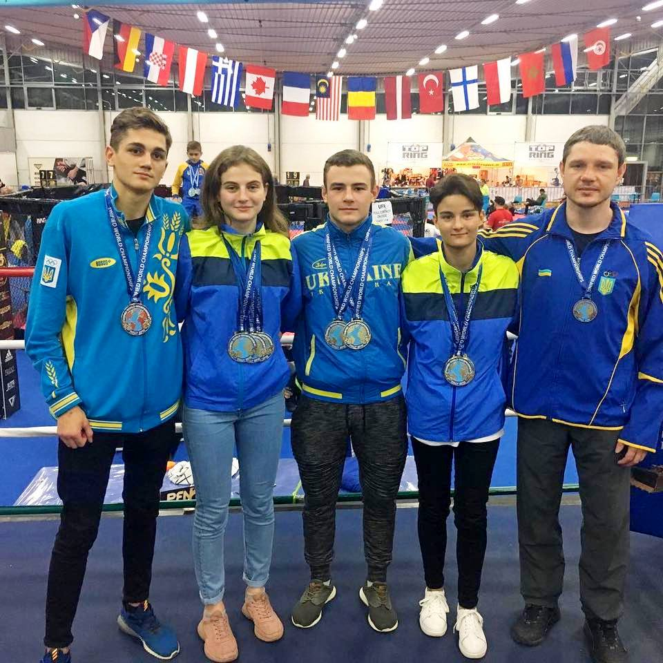 Students of NURE brilliantly performed at theKickboxing World Championship.