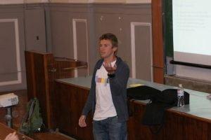 Представник Google провів лекцію для студентів ХНУРЕ