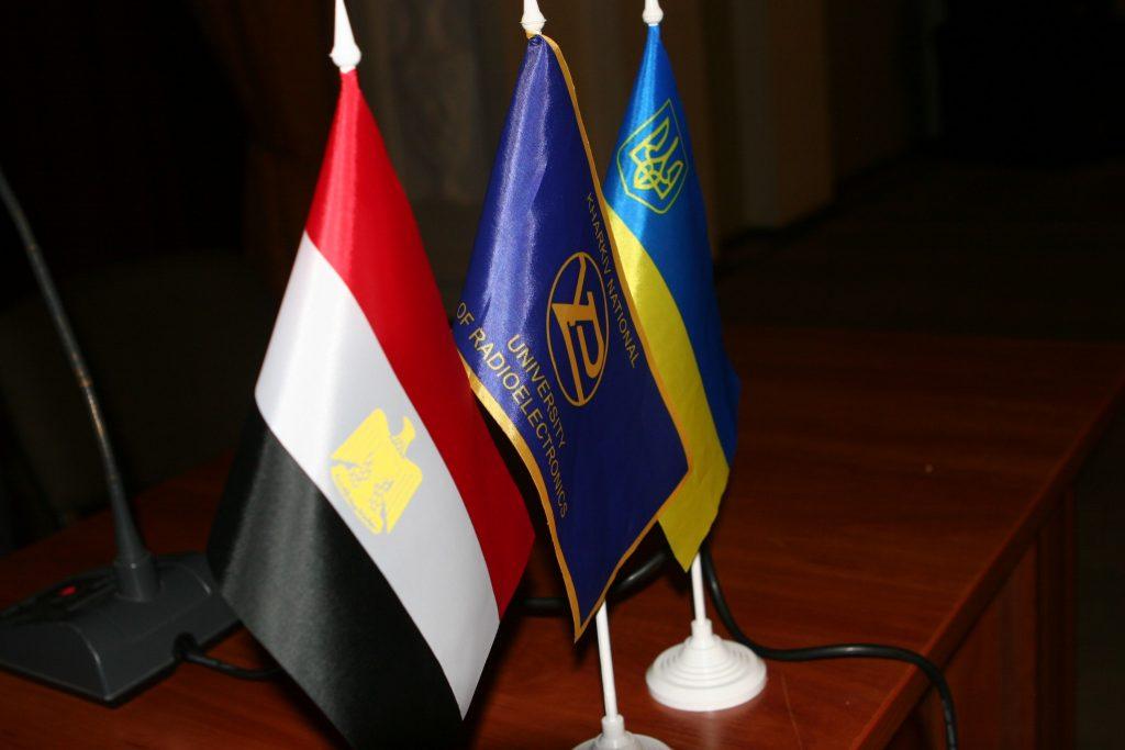 Valerii Semenets held a meeting with the Ambassador of Egypt