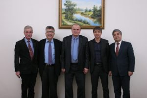 A delegation of the Istanbul Technical University arrived in NURE.