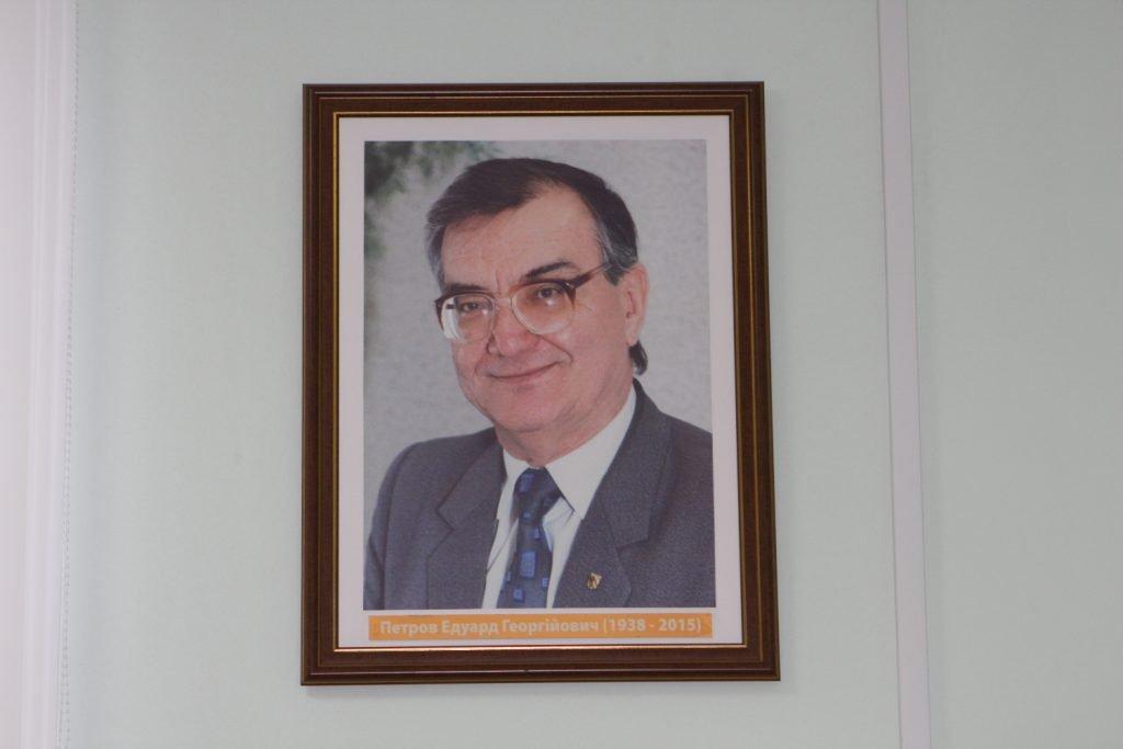 В ХНУРЭ открыли новую аудиторию имени выдающегося профессора Эдуарда Петрова