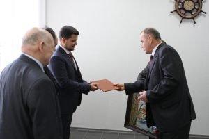 Ректор ХНУРЕ Валерій Семенец привітав НВП ДП «ХМЗ «ФЕД» з ювілеєм
