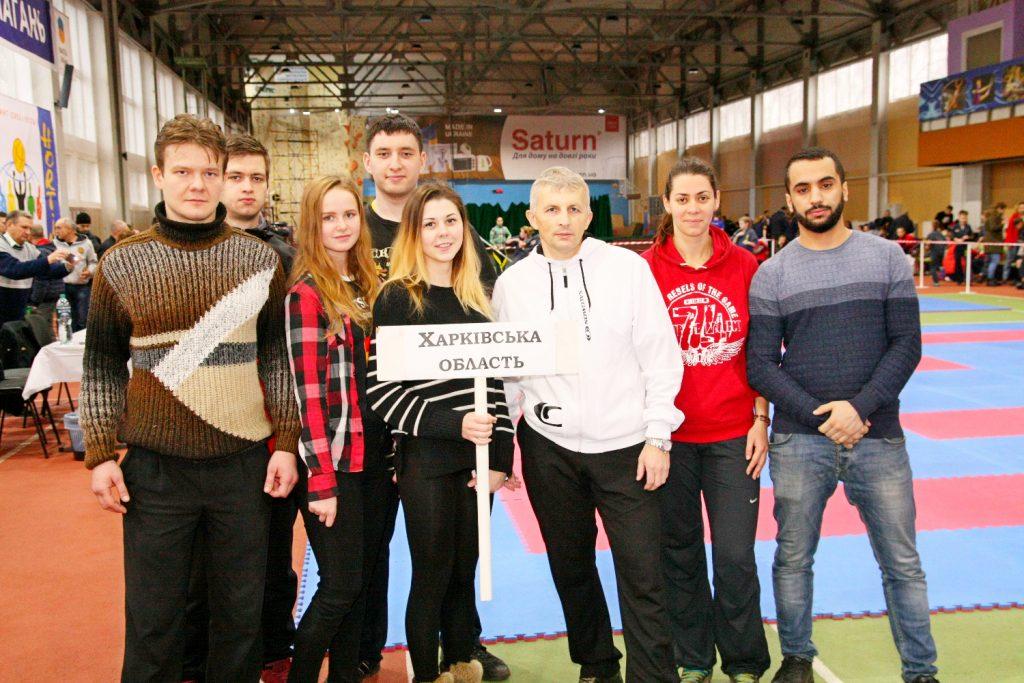 Сборная команда ХНУРЭ заняла второе место на кубке Украины по хортингу