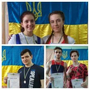 Студенты ХНУРЭ победили в соревнованиях по тяжелой атлетике