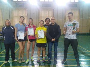 Сборные ХНУРЭ по настольному теннису — среди лучших на областных соревнованиях
