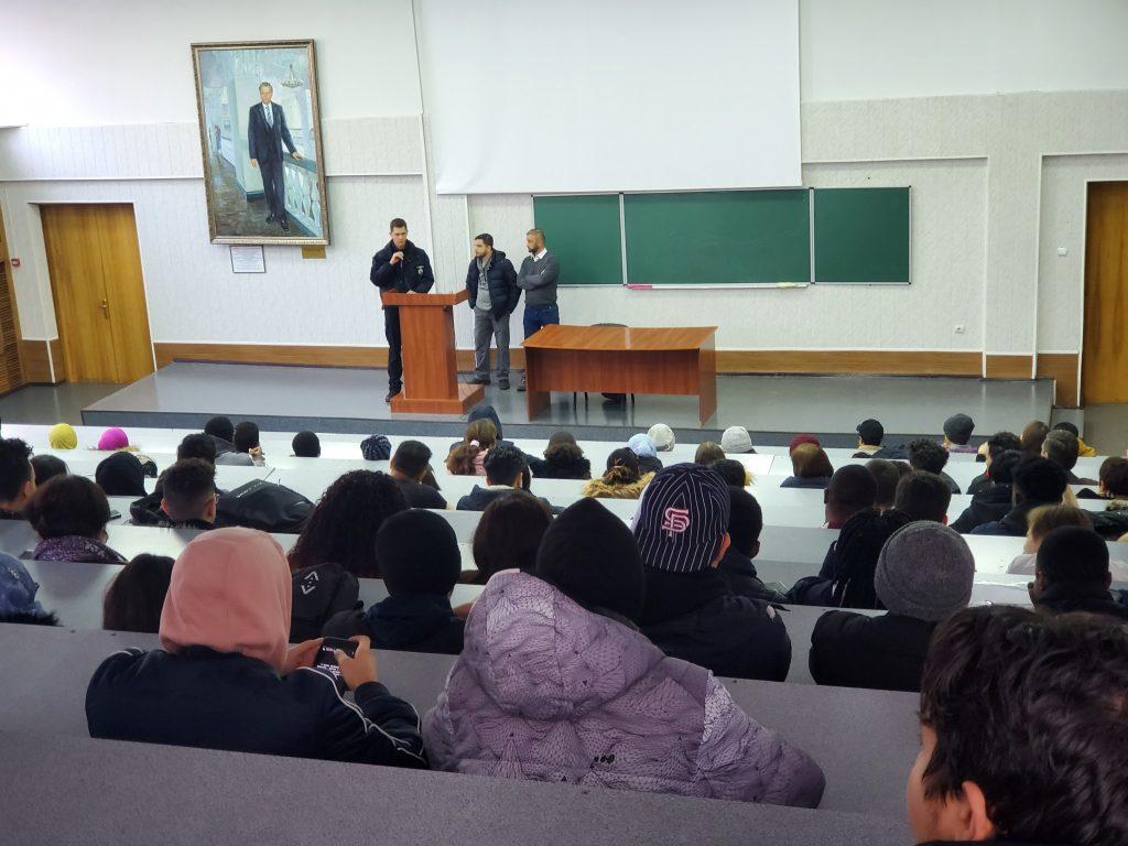 Представники Національної поліції провели цикл лекцій для студентів ХНУРЕ