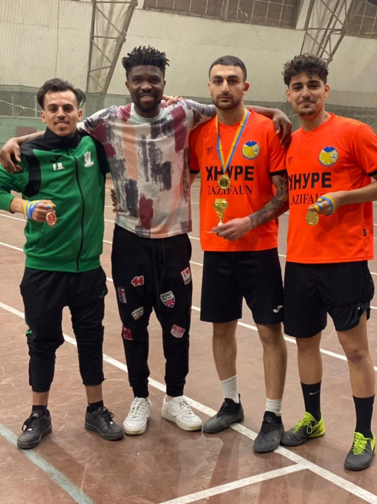 The team of NURE students is the winner of the Kharkiv Football Cup among foreign citizens