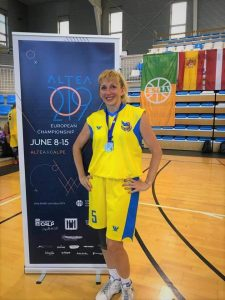 Викладач ХНУРЕ виграла «срібло» на чемпіонаті Європи з баскетболу