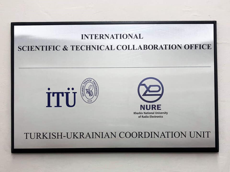 NURE Scientific and Technical Research Office was opened in Turkey