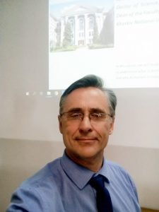 Andrii Yerokhin was named the best guest professor at the Polish University