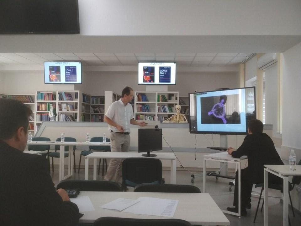 ХНУРЭ принял участие в Международном семинаре «Инновационные технологии в медицинском образовании»