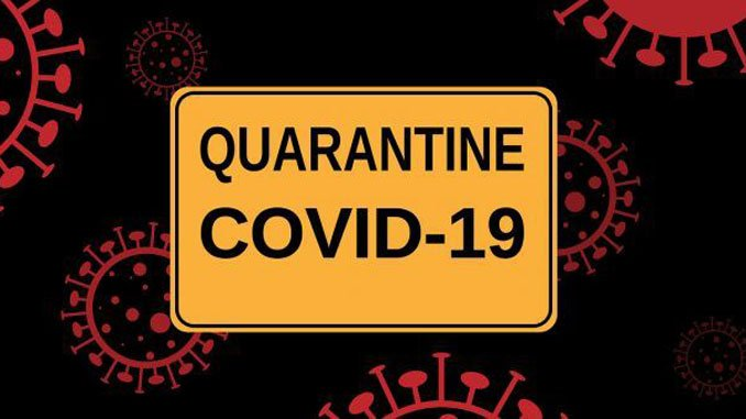 Attention!  Quarantine continued!