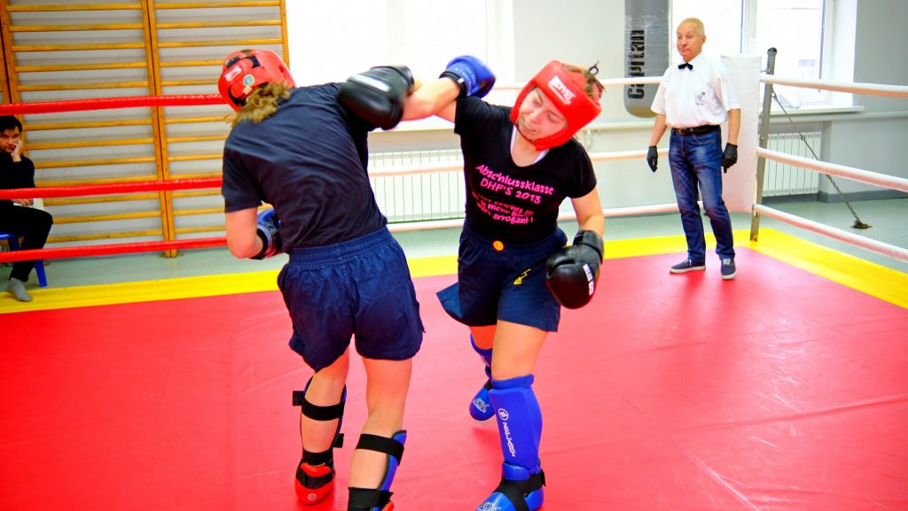 The kickboxing championship took place in NURE