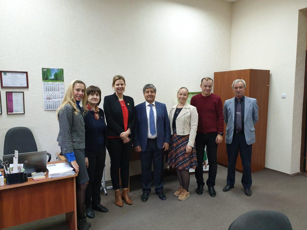 У ХНУРЕ відбулась робоча зустріч з аташе Посольства Республіки Франція в Україні