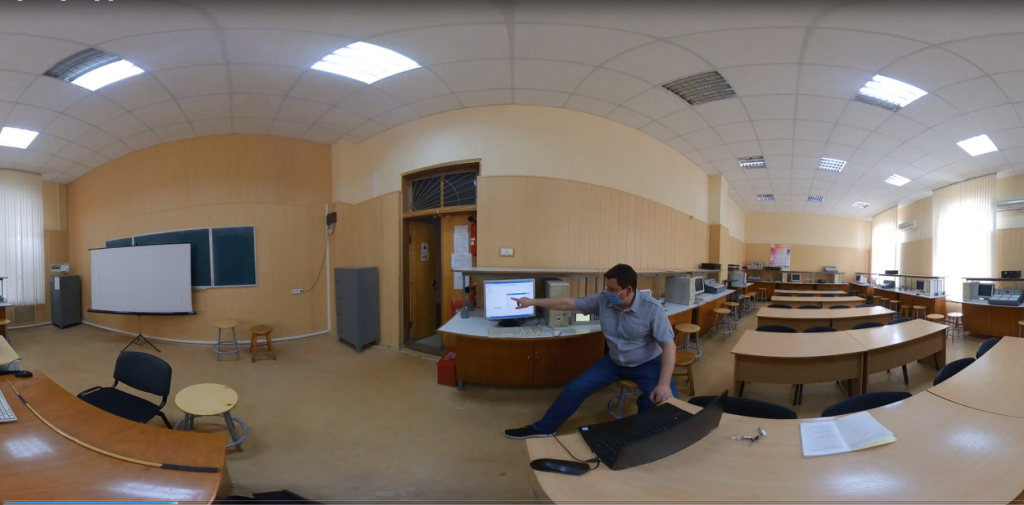 Opportunities of Modern Panoramic Video Technologies For Creating Interactive Educational Content
