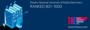 ХНУРЭ вошел в ТОП 1000 рейтинга Times Higher Education World University Rankings