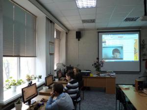 Joint project between the Novovodolazhskaya sanatorium school  and NURE on distance learning