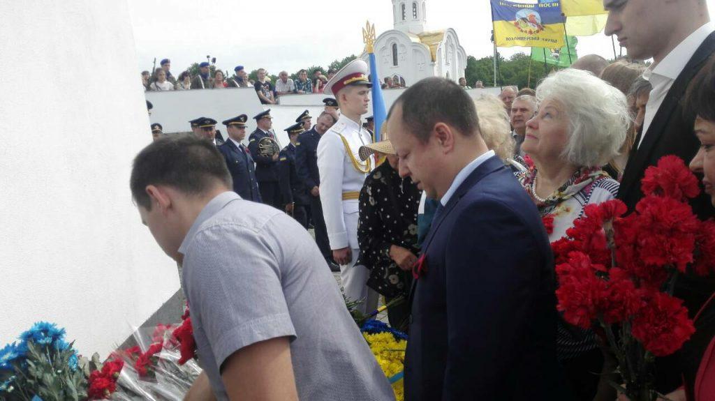 Сотрудники ХНУРЭ приняли участие в мероприятиях в честь Дня победы