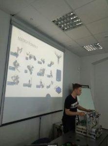 Employees of Matrix Robotics presented their developments in NURE